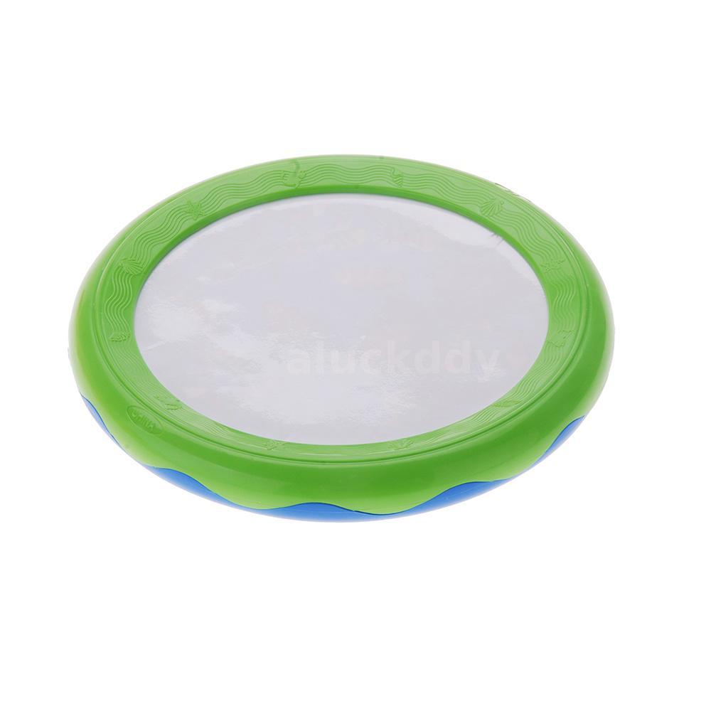 Ocean Wave Bead Drum toy for kids Gentle Sea Sound Musical Educational Y